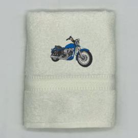 Handdoek met motor