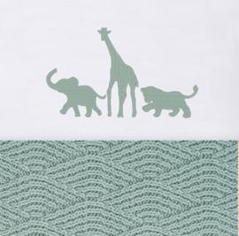 Laken safari  (in diverse kleuren verkrijgbaar)