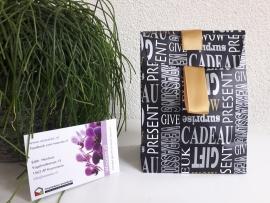 Luxe cadeautasje + 10 waxxies