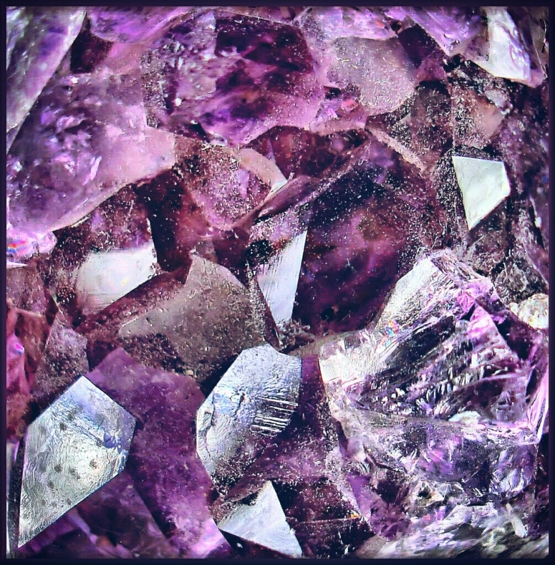 Blackened Amethyst