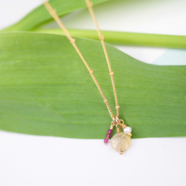 Gems | Ketting Edelstenen - 14K Gold Filled
