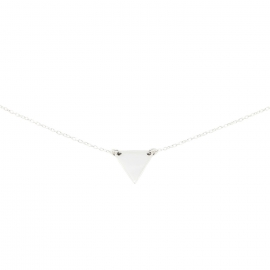 Triangle | Ketting Driehoek - 925 Zilver