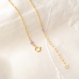 A Heart of Gold | Armband (Initiaal) Hartje - 14kt Gold Filled