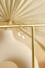 Maantje Oorbel Hanger | 14K Gold Filled