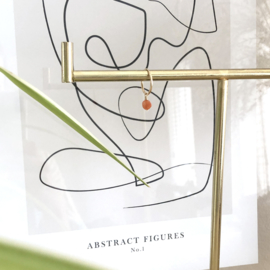 Zonnesteen Oorbel Hangertje | 14K Gold Filled