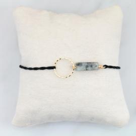 Blossom Sesame Jasper | Sesam Jaspis Cirkel Armbandje