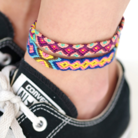 Friendship Anklet | Geknoopt Vriendschaps Enkelbandje
