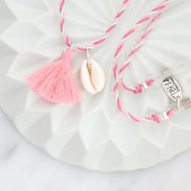 Custom Made Enkelbandje - Amber