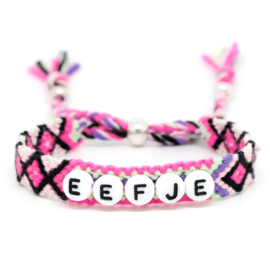 Name Friendship Bracelet | Geknoopt Vriendschaps Armbandje