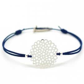 Bedel Armbandje Zilver | Flower Circle