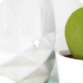 Triangle   Ketting Driehoek - 925 Zilver