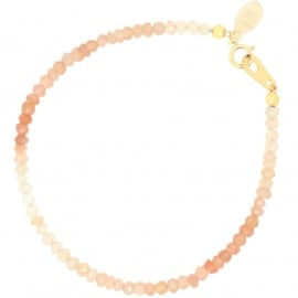 Peche Melba | Maansteen Armband - Gold Filled