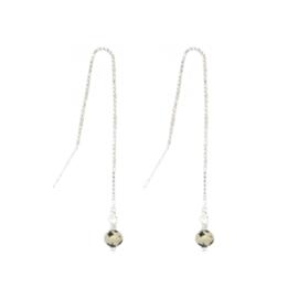 Gem Ear Threaders | Stel je Eigen Doortrekoorbellen Samen! - 925 Zilver