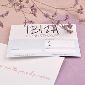 Gift Card € naar keuze | Cadeaubon