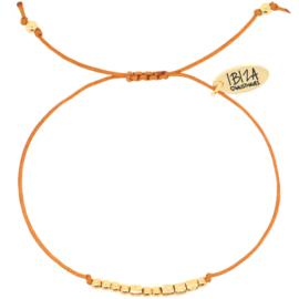 Morse Code Armband | Goud