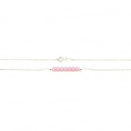 Joyfull Bliss French Rose | Ketting 925 Sterling Zilver