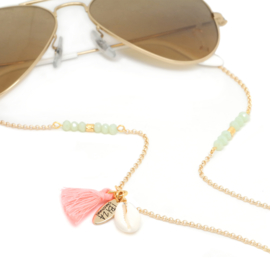 Sunny Chain Tropical - Goud & Zilver | Zonnebrilketting