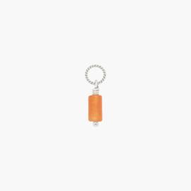 Aventurijn Twisted Hanger | 925 Zilver