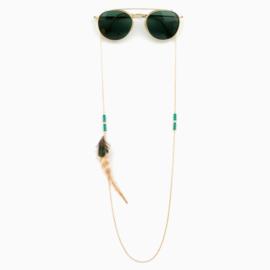 Sunny Chain Hippy -  Goud & Zilver   Zonnebrilketting