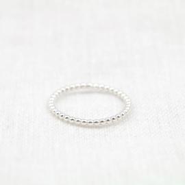 The Dotted Ring | Bolletjesring - 925 Zilver