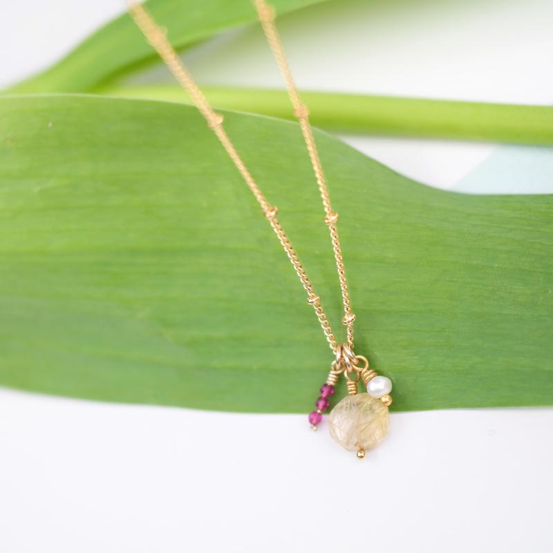 Gems | Ketting Edelstenen - 14K Gold Filled