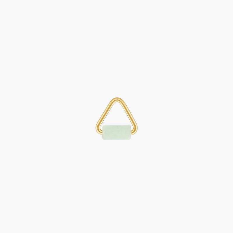 Jade Triangle Oorbel Hanger | 14K Gold Filled
