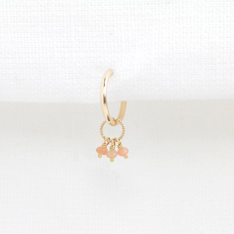 Maansteen Hoop | Oorbel- 14K Gold Filled