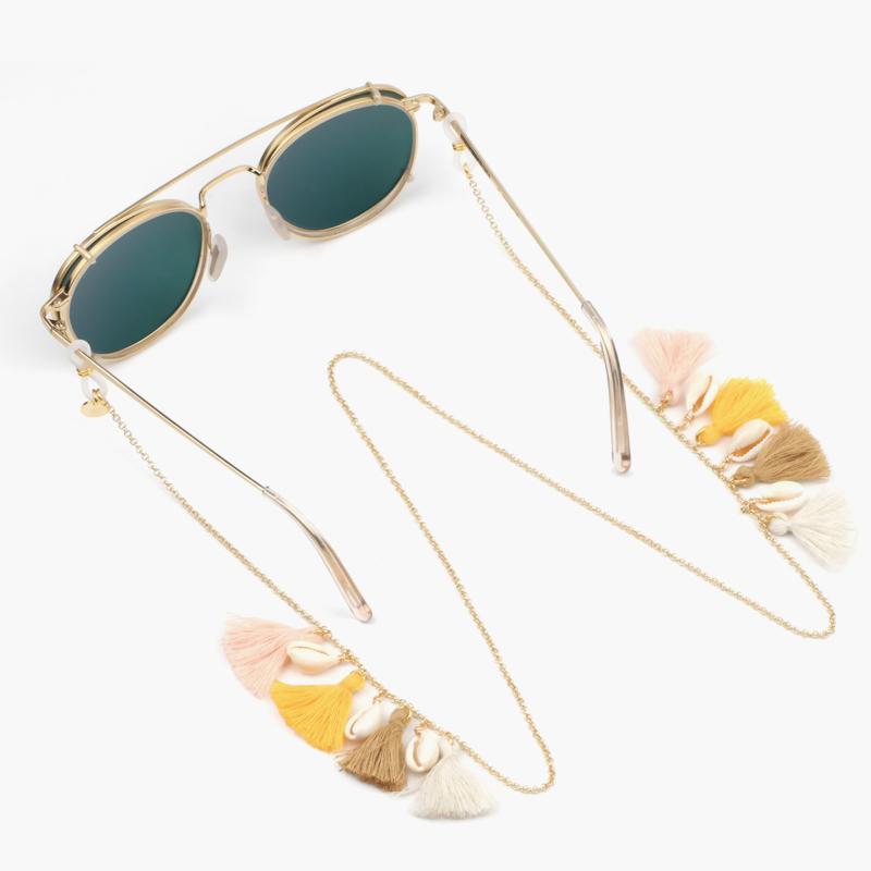 Sunny Chain Boho - Goud | Zonnebrilketting - Kies uit 4 Kleuren