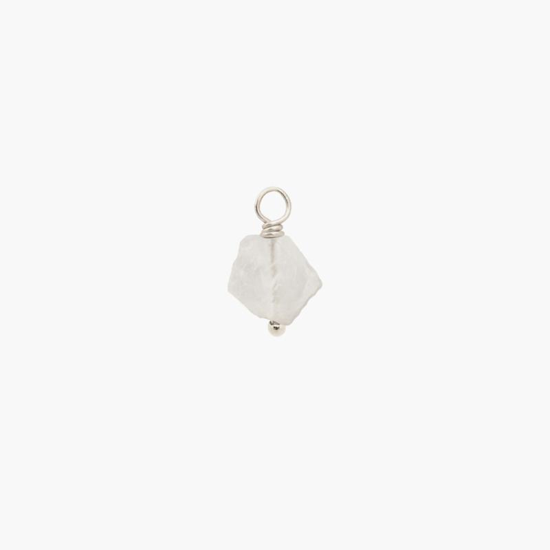 Maansteen Oorbel Hanger | 925 Zilver