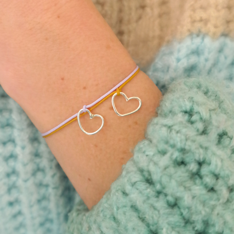 The Perfect Imperfect Bracelet | Armbandje Hartje - 925 Zilver