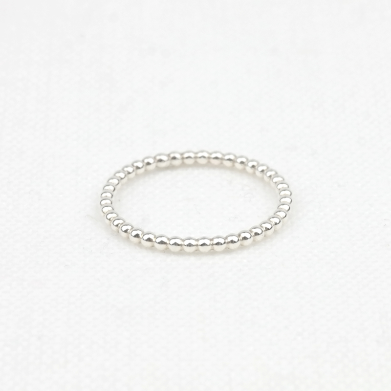 The Dotted Ring | Stacking Ring - 925 Zilver