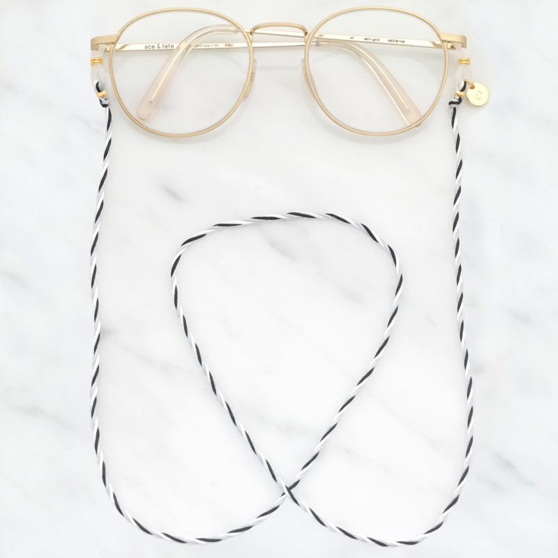 EyeGlass Cord Twisted Cord | Brillenkoordje - Custom Colors