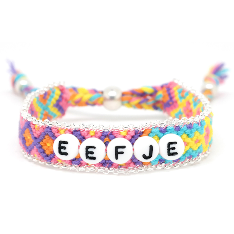 BohoBiza Chain Friendship Bracelet   Naam Armband