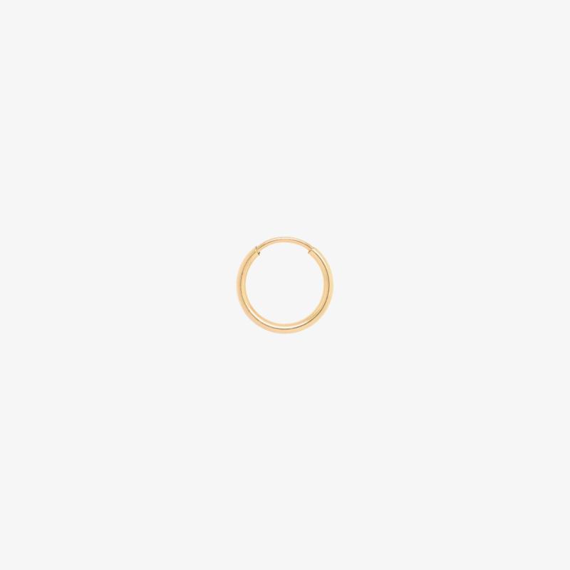 Endless Hoop | Oorring 12 mm - 14K Gold Filled