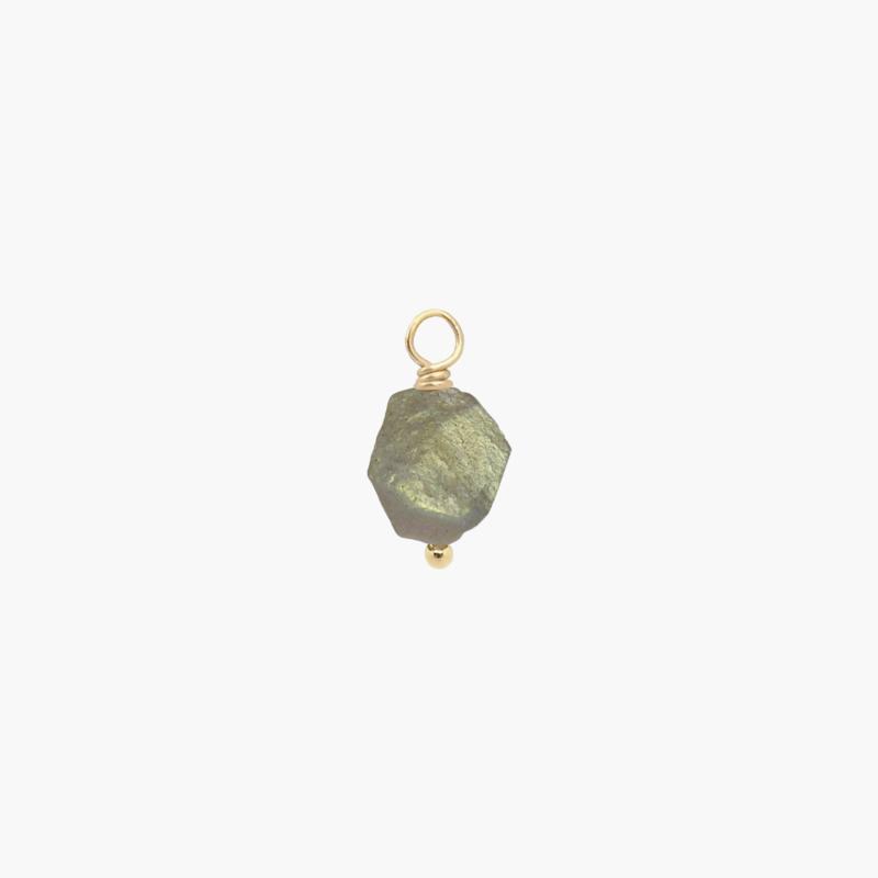 Labradoriet Oorbel Hanger | 14K Gold Filled
