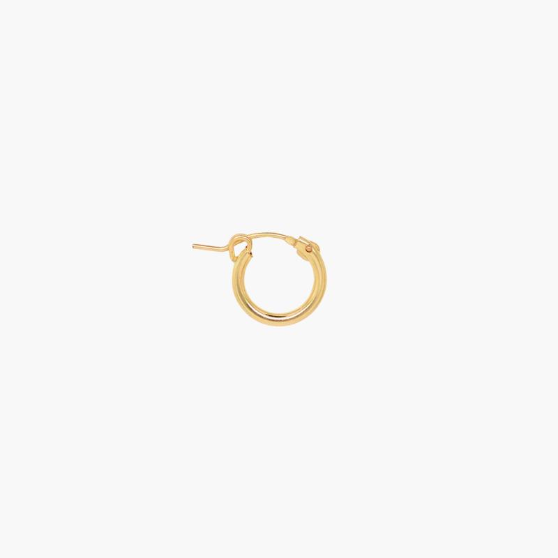 Bold Hoop   Oorring 12 mm - 14K Gold Filled