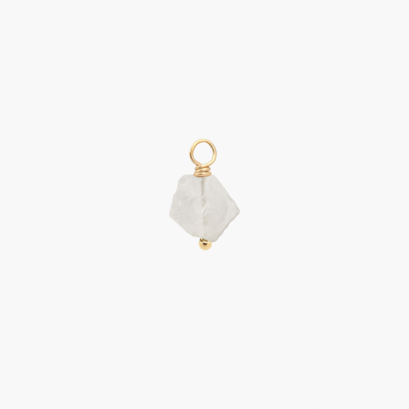 Maansteen Oorbel Hanger | 14K Gold Filled