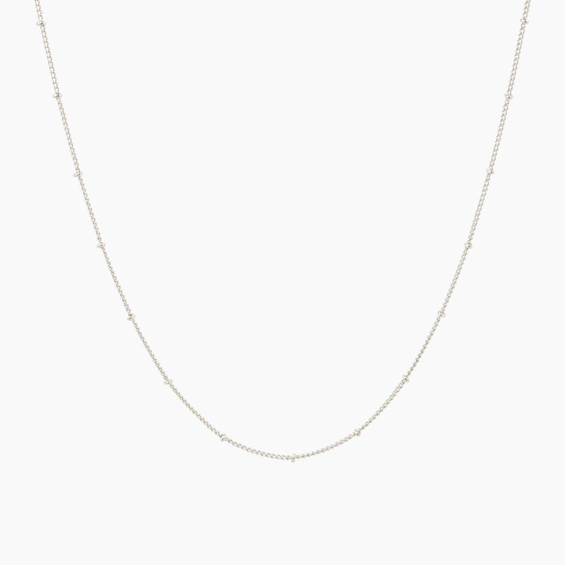 DOTTED   Basis Ketting - 925 Zilver
