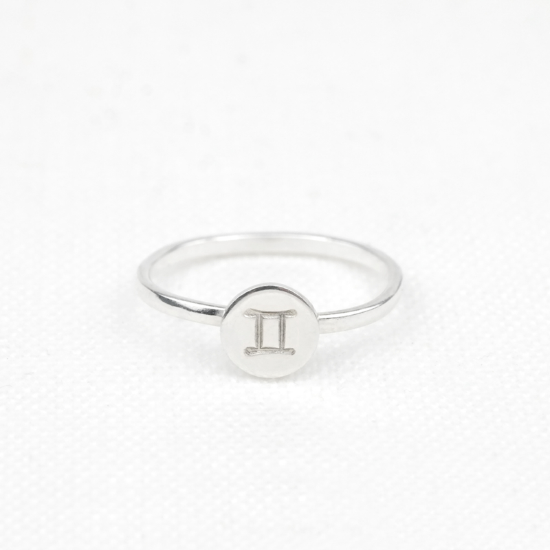 Zodiac Sign Ring  | Sterrenbeeld Ring - 925 Zilver