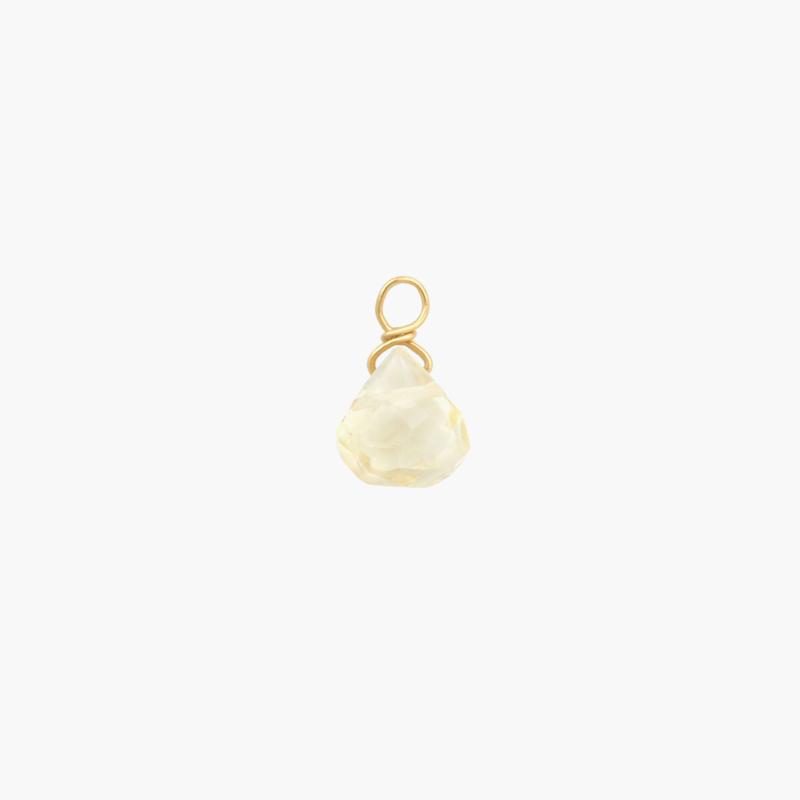 Citrien Druppel Oorbel Hanger | 14K Gold Filled