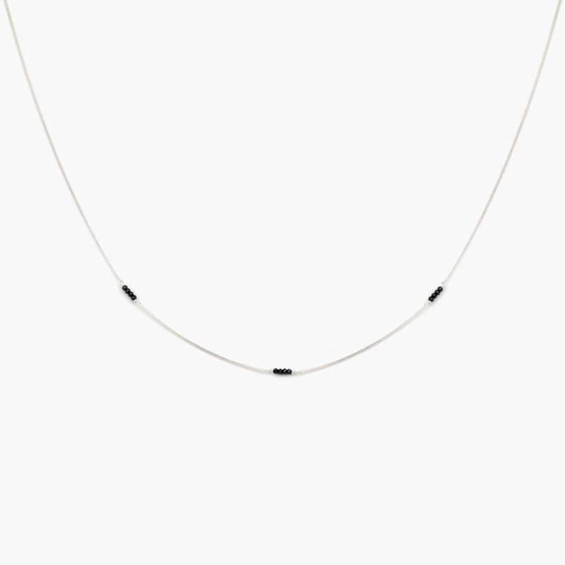 Spinel Chain | Ketting Spinel - 925 Zilver