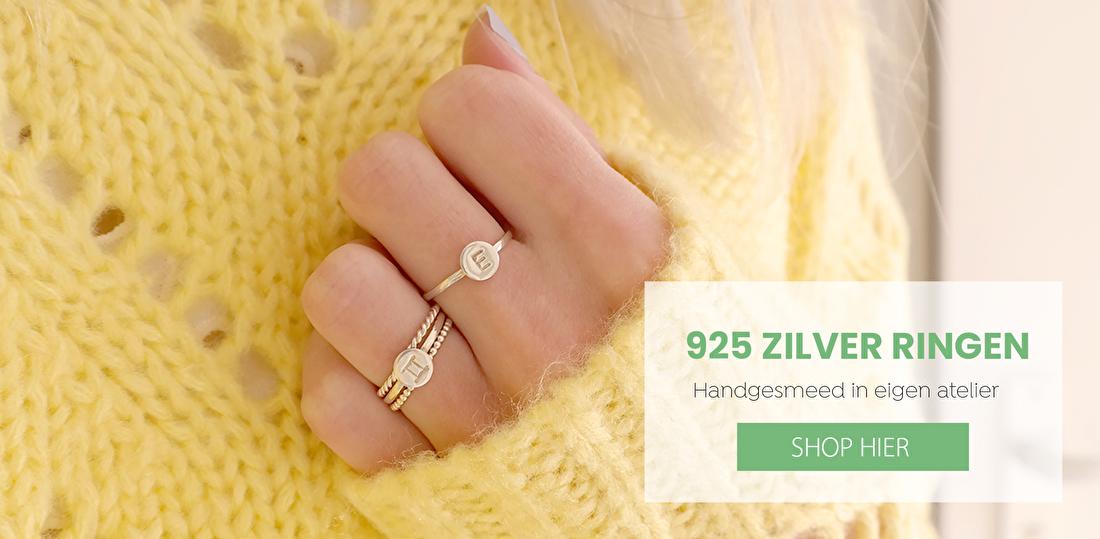Handgesmede 925 Zilver Ringen
