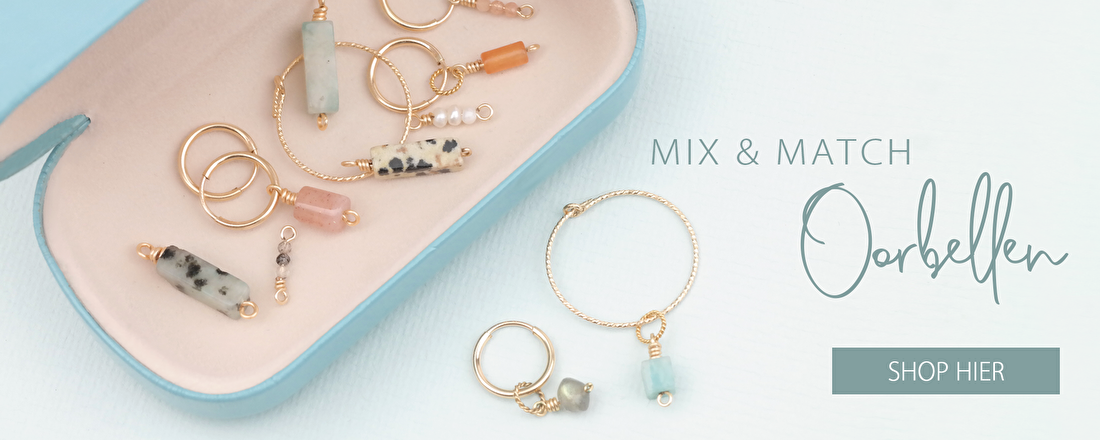 mix & match oorbellen