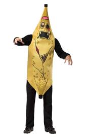 Zombie banaan kostuum