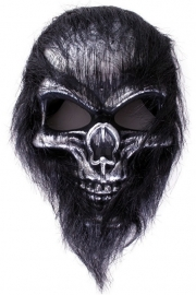 Masker doodshoofd aap harig
