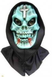 Doodshoofd masker groen