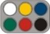Grimas Waterschmink palet 6kl