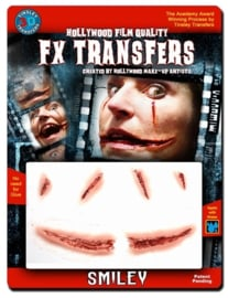 Bloody smile 3D FX transfer
