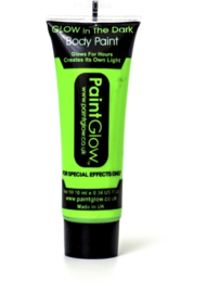 Bodypaint groen glow in the dark / neon