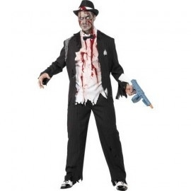Zombie gangster scary
